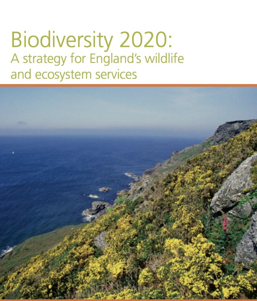 生物多樣性 2020。圖片來源:defra