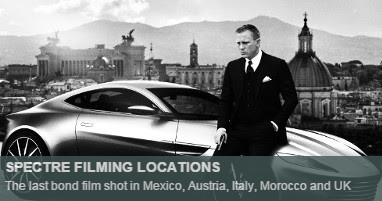Where was Spectre filmed