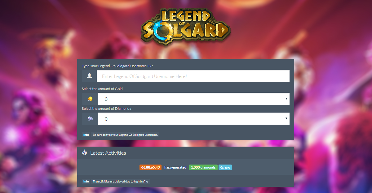 Legend Of Solgard Hack