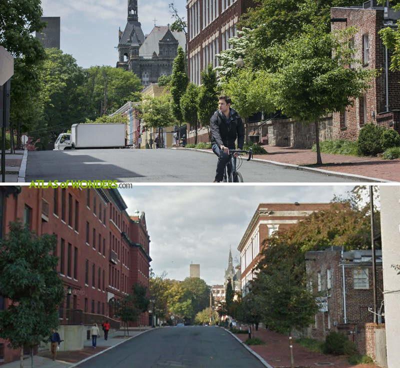 Filming Georgetown University