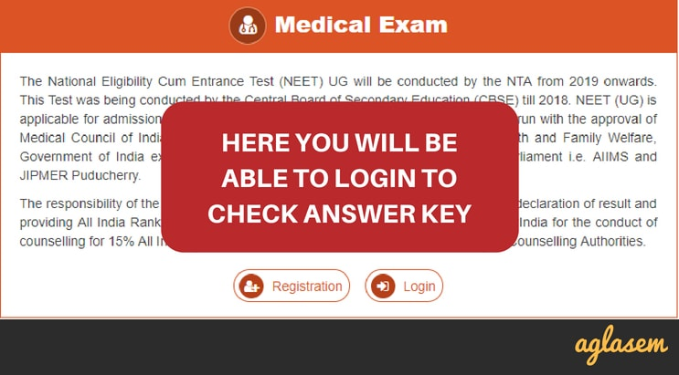 NEET 2019 Answer Key, Solutions, By NTA, Institutional – Get Here