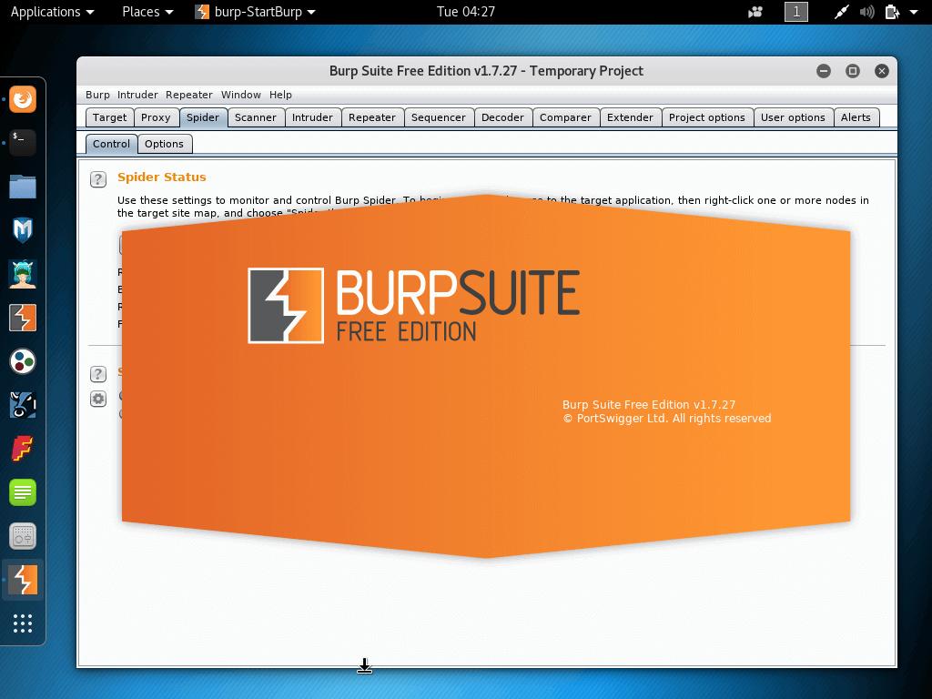 Burp-Security-Vulnerability-Scanner