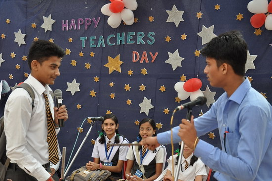teachers day speech in English from students