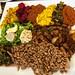 lamb tibs, beef kitfo and veggies from House of Tadu Ethiopian Kitchen
