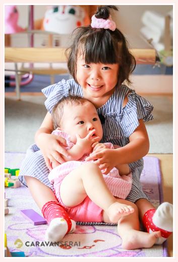 子どもの姉妹