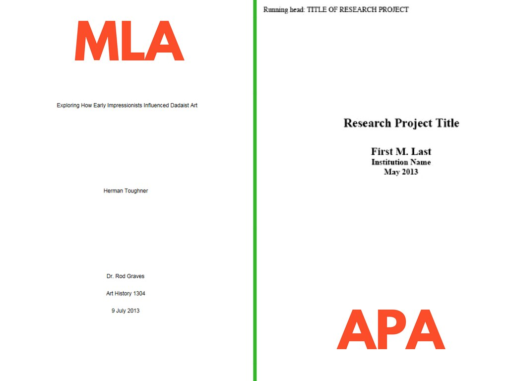Create A Title Page For Your Research Paper