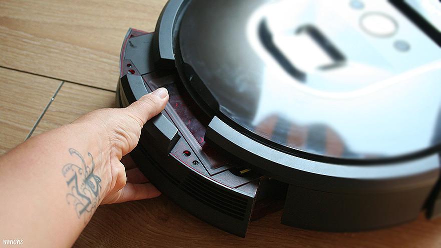 limpieza de la Roomba de iRobot