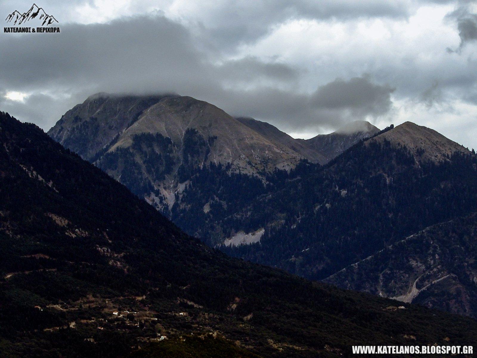 βουνα αιτωλοακαρνανίας παναιτωλικό κορυφές
