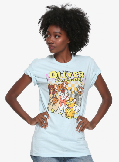 oliver and company t-shirt