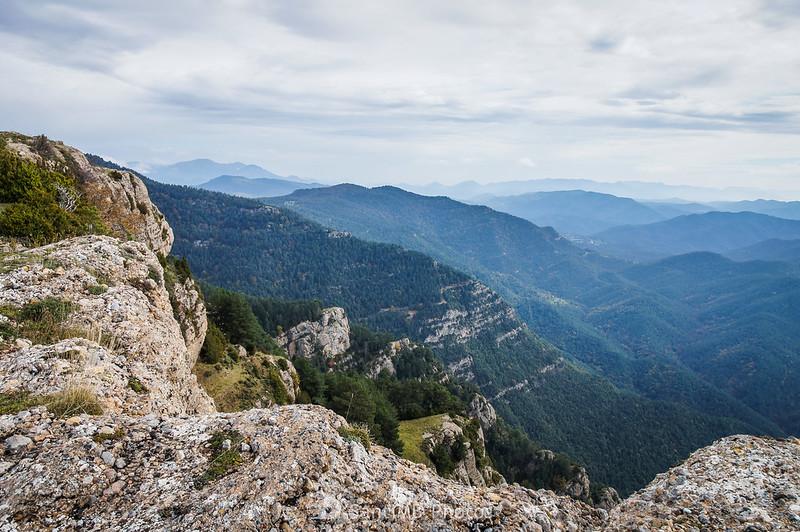 Vistas al Este desde los Rasos de Clarent