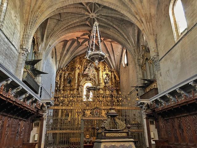 Interior de la catedral de Coria (Cáceres)