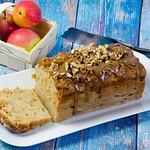 Apfel-Karamellkuchen aus der Kastenform