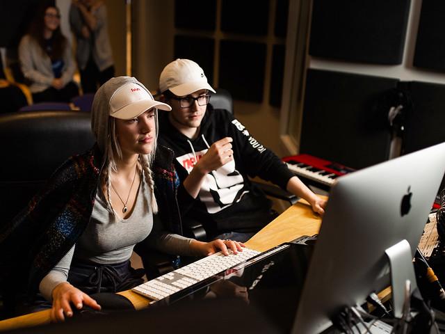 Bilde: Musikkproduksjon