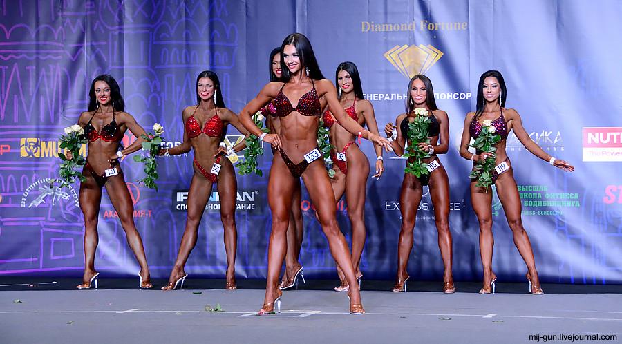 Чемпионат Москвы по фитнесу бикини