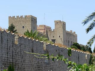 Часть 5. Крепостные стены Родоса