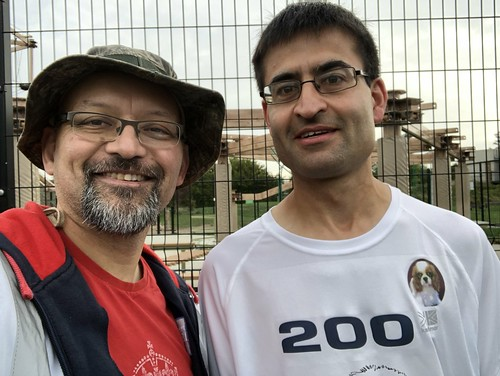 Ashwin, 200th parkrun and a PB!