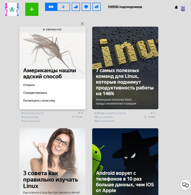 Либератум в Яндекс.Дзен