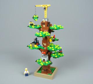 Review: 4000026 LEGO House Tree of Creativity