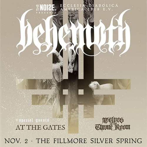 Behemoth at Fillmore Silver Spring