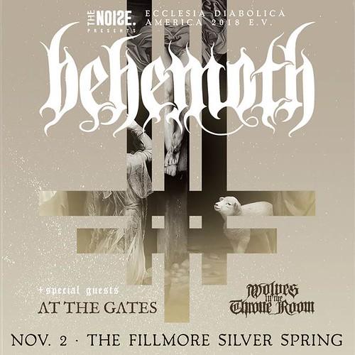 Behemoth at Fillmore Silver Spring