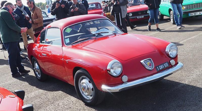 Abarth 750 Zagato Sestrière 1960 / 25 exemplaires  44957142312_70d3f46100_c