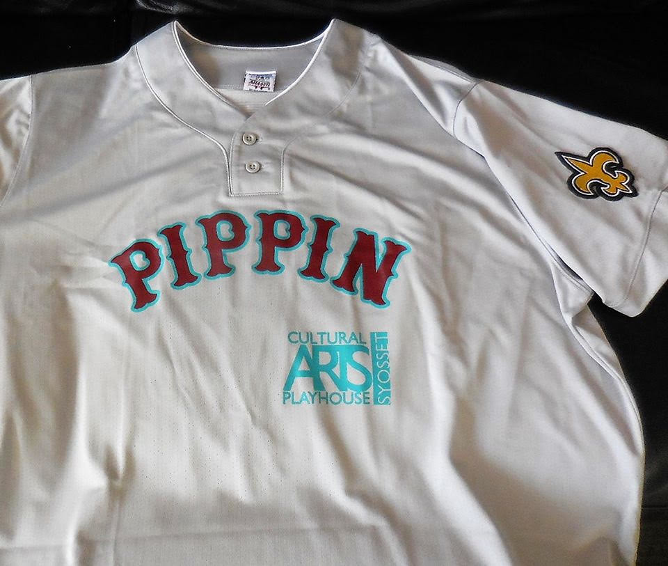 dc03f21f2 Reader Jay Braiman was recently in a theatre production of Pippin and  designed baseball jerseys as mementos for the ...