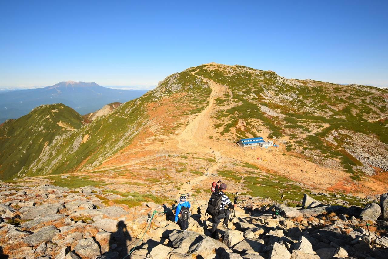 中岳から木曽駒ヶ岳へ