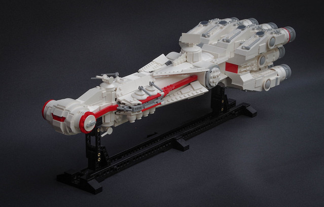 A consular ship, on a diplomatic mission