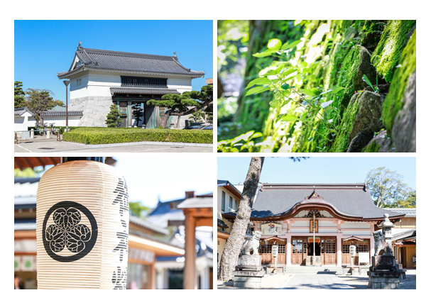 岡崎公園・龍城神社(愛知県岡崎市)
