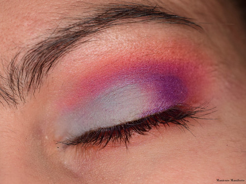 Pink Purple Eye Look