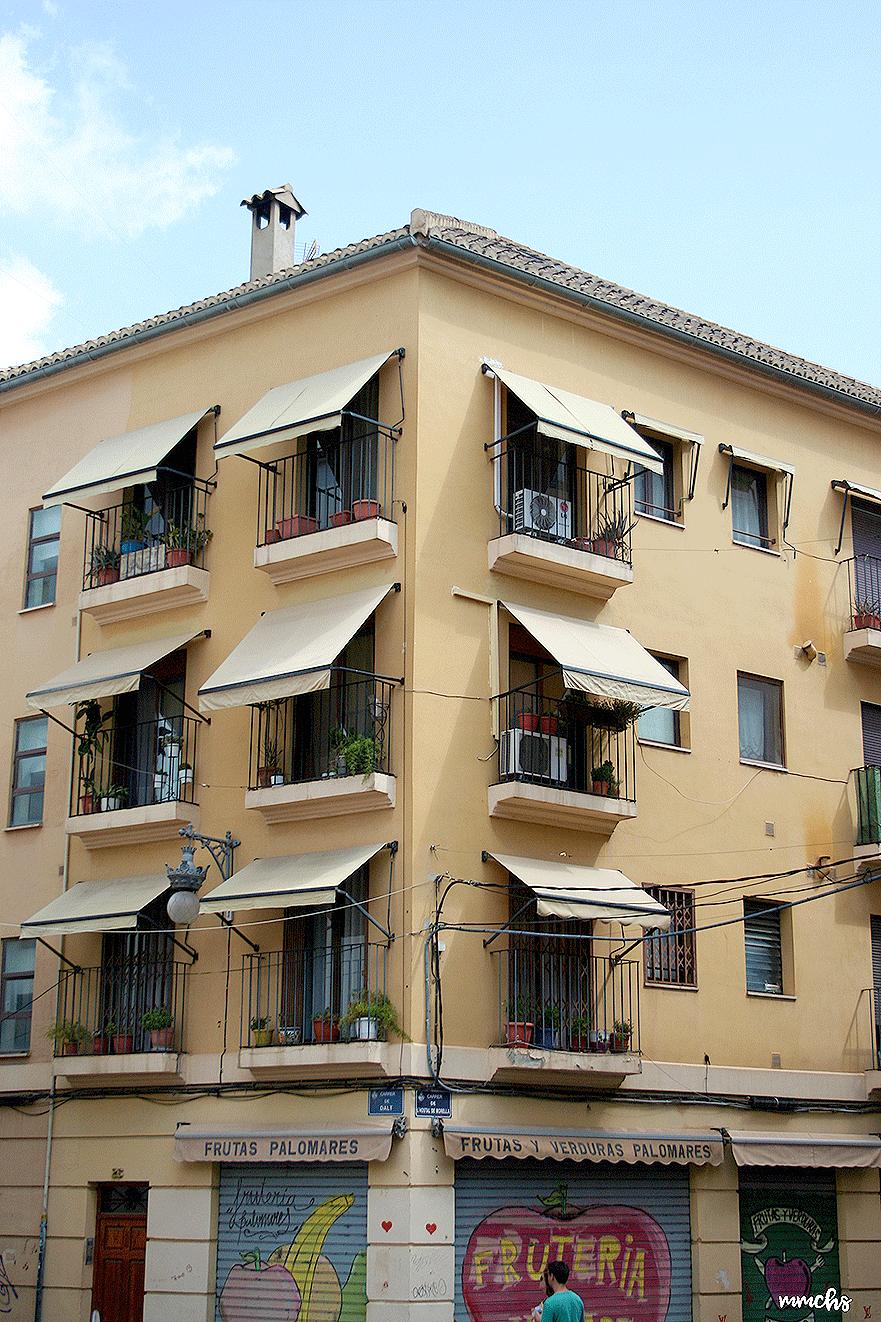 casa Mortadelo y Filemón barrio del Carmen Valencia