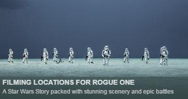 Dónde se rodó Rogue One
