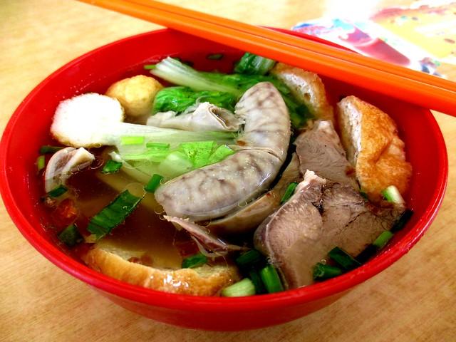 Everfull Kopitiam Selangau chap chap soup