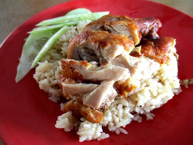 Drumstick chicken rice