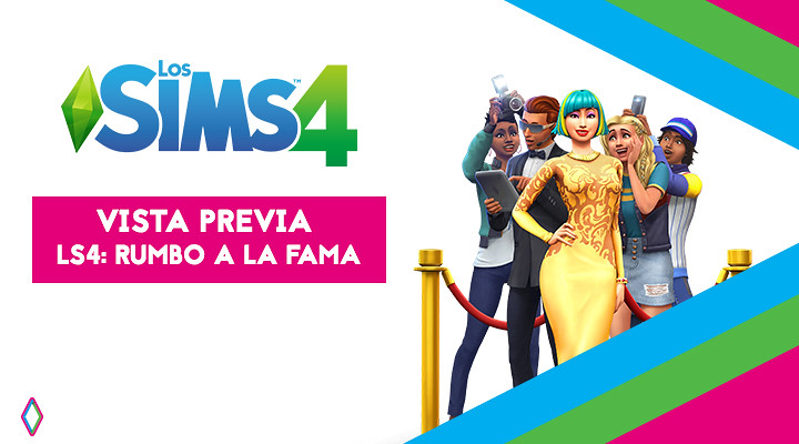 Vista previa de Los Sims 4 ¡Rumbo a la Fama! (Lili Cross, Mia Zaff y Lyna)