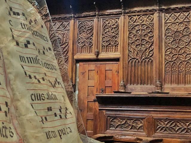 Coro de la catedral de Coria (Cáceres)