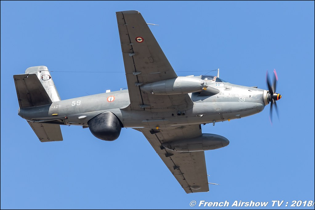 Breguet Br.1050 Alizé , Meeting aérien Des Étoiles et des Ailes 2018 - Aéroport de Toulouse Francazal , Canon EOS , Sigma France , contemporary lens , Meeting Aerien 2018