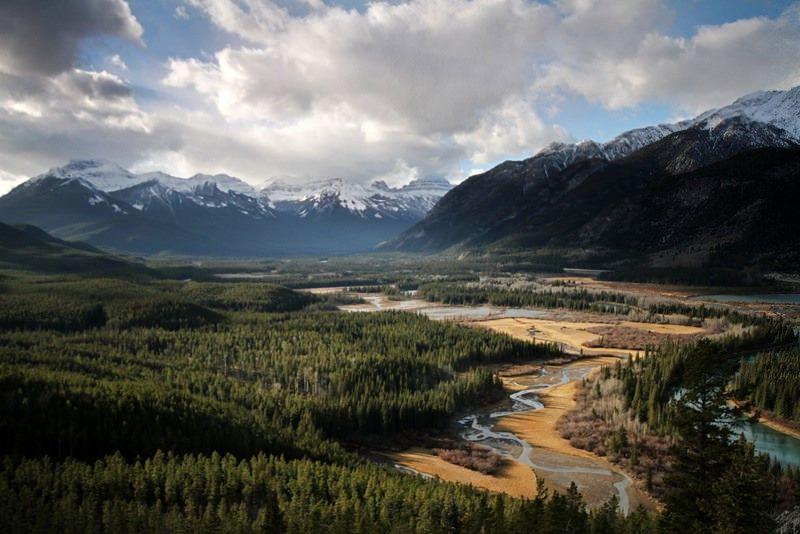 Kananaskis landscape featured in the movie