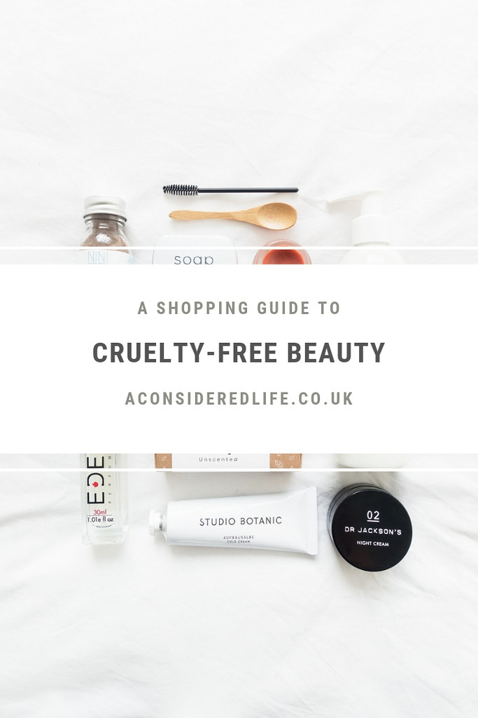 A Cruelty-Free Beauty Brand Directory