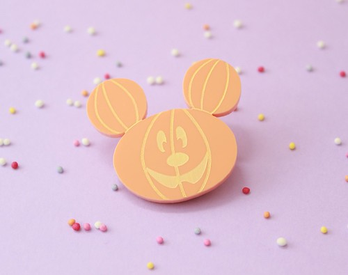 i love crafty halloween disney pumpkin brooch