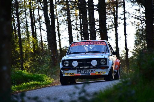 Unai Ziarreta - Igor Casado, Ford Escort MK II, XXV Rallye de Gernika 2018