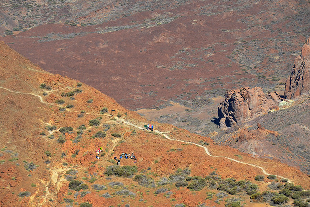 View from path, Teide National Park, Tenerife