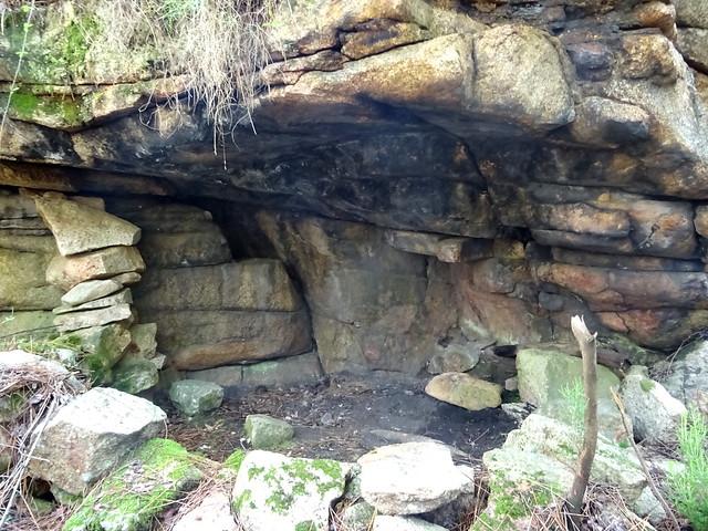 Sapara le long du tronçon abandonné du Chemin de Paliri