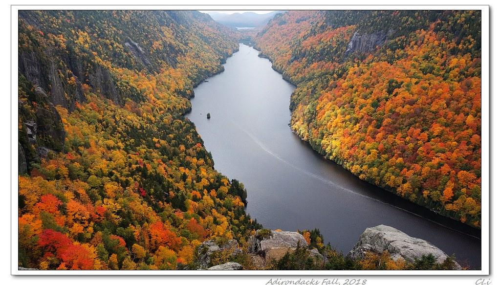 仙境在人間-1 紐約州Adirondacks;北美最佳看紅葉之地