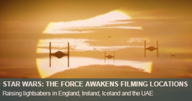 Where was The Force Awakens filmed