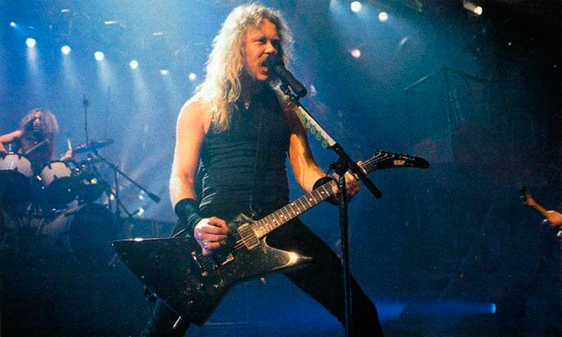"Metallica comparte video inédito interpretando ""The Shortest Straw"" en 1992"