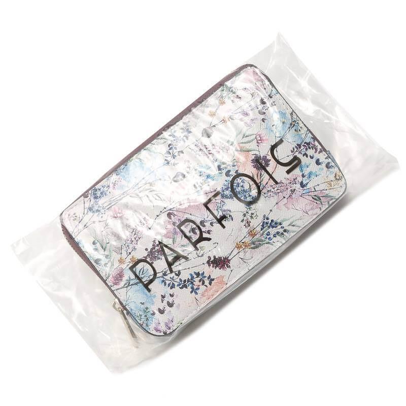 Túi xuất khẩu đeo chéo kiêm clutch P.A.R.F.O.I.S họa tiết hoa PFIS-091018