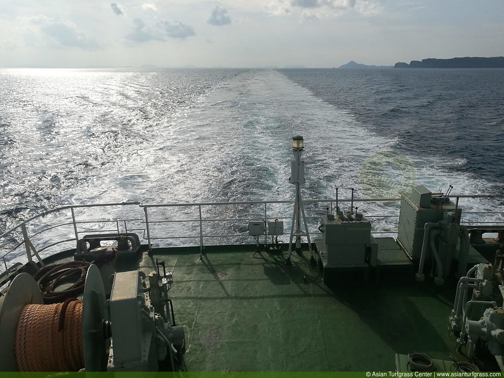 view of the ferry from Ojika to Sasebo