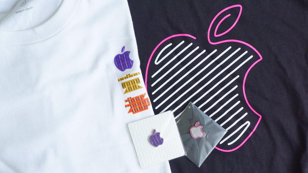 Apple新宿とApple京都で配布された記念品
