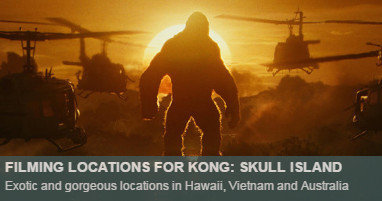 Kong Skull Island Location